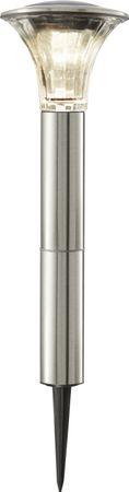 "LED-Solar-Pathlight ""Nice"", Edelstahl, ca.51x17cm, – Bild 1"