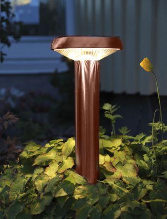 LED-Solar-Pathlight, Edelstahl, ca.45x16 cm – Bild 3