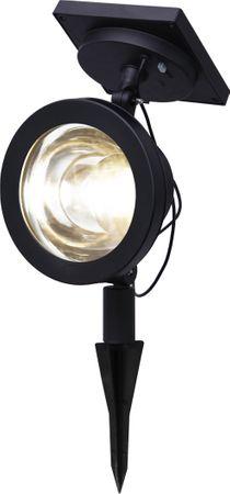 LED-Solar-Spotlight, ca. 22 x15 cm, Farbe: schwarz – Bild 2