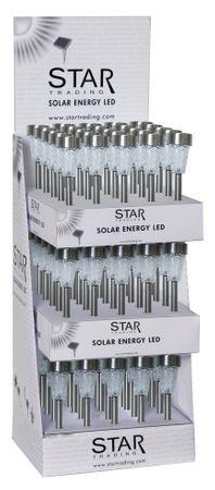 Display LED-Solar-Laternen, 75 tlg., Edelstahl – Bild 1