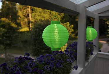 LED-Solarlampion, 1 cool light LED, ca.22x20 cm – Bild 2