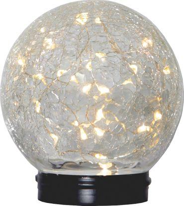 """LED-Solar-Kugel """"Glory"""", 30 warmwhite LED, – Bild 1"""