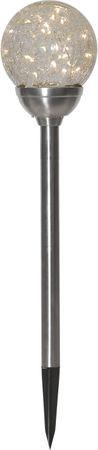 """LED-Solarstab """"Glory""""mit Kugel, 30 warmwhite LED – Bild 1"""