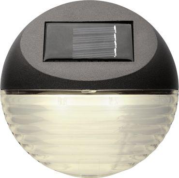 "LED-Solar-Wandleuchten ""Fency"", 3er Set, je 11x11c – Bild 2"