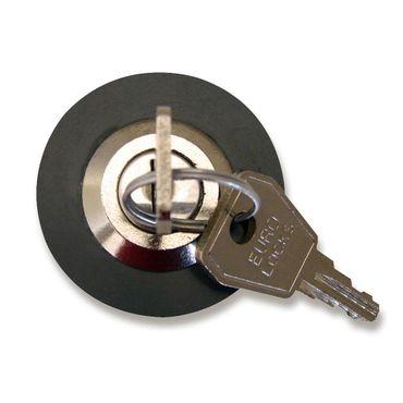 Steckdosenschloss Nr. 803, mit 2 Schlüsseln