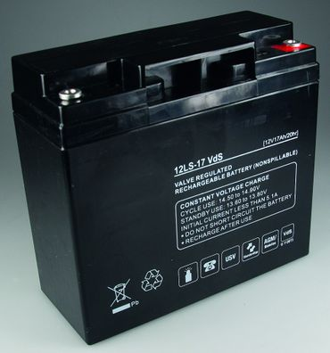 Bleiakku Q-Batteries 12V/17Ah