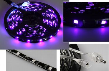 "LED-Stripe ""CLS-200UV"" 200cm, blacklight"
