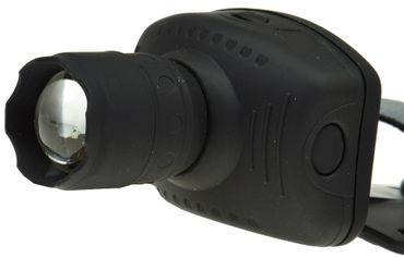 LED-Stirnlampe mit fokussierbarer 1W LED – Bild 4