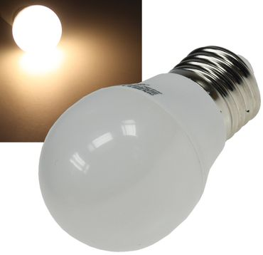 "LED Tropfenlampe E27 ""T25 SMD"" warmweiß – Bild 1"