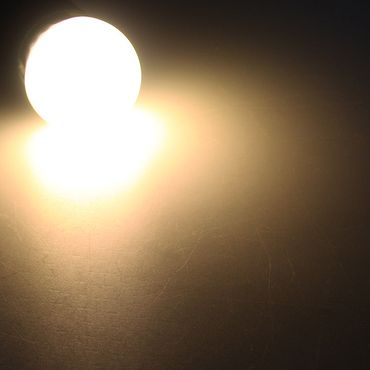"LED Tropfenlampe E14 ""T25 SMD"" warmweiß – Bild 2"
