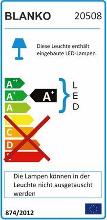 LED Modul 4 x Power SMD LEDs warmweiss – Bild 2