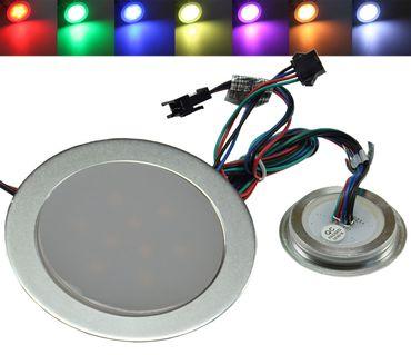 "LED Einbauleuchte ""EBL Slim RGB"" – Bild 1"
