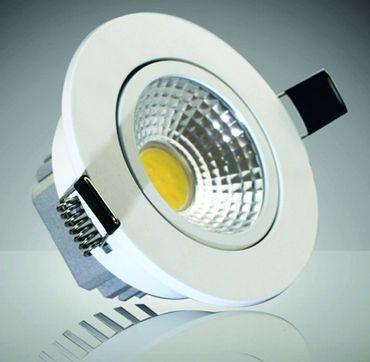 """LED-Einbauleuchte """"COB-5"""", 5W, 350lm – Bild 1"""