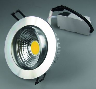 """LED-Einbauleuchte """"COB-7"""", 7W, 450lm – Bild 1"""