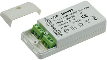 "LED-Trafo ""CT-12E-V2"", 0,5-12W – Bild 1"