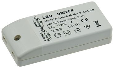 "LED-Trafo ""CT-12E-V2"", 0,5-12W – Bild 2"