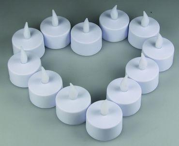 flackerndes LED Teelicht / LED-Kerze – Bild 2