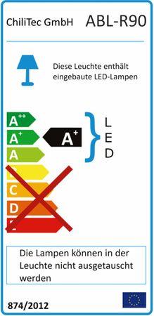 "LED-Aufbauleuchte ""ABL-R90"" kaltweiß – Bild 3"