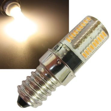 LED Lampe E14, 72 SMD LEDs – Bild 1