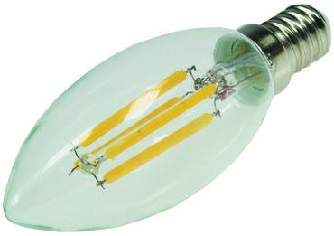 "LED Kerzenlampe E14 ""Filament K4"" – Bild 1"