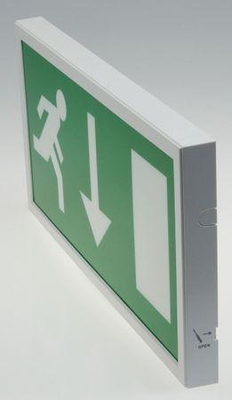 "LED Fluchtwegleuchte ""NL-W2"" 30 LEDs – Bild 2"