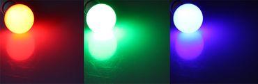 LED Glühlampe E27 RGBW mit Fernbedienung – Bild 2