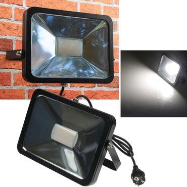 """LED-Fluter SlimLine """"CTF-SL50B"""" schwarz – Bild 1"""