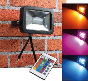 "LED-Fluter SlimLine ""CTF-SL10W RGB"" – Bild 1"