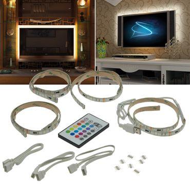 RGB Stripe Set:TV-Hintergrundbeleuchtung – Bild 1