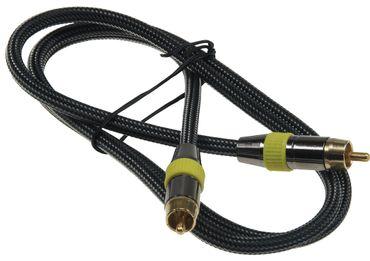 Premium Cinch-Kabel 1m – Bild 1