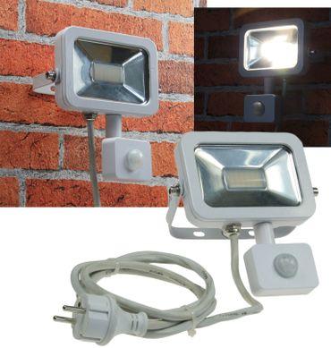"LED-Fluter SlimLine ""CTF-SL10 PIR"" weiß – Bild 1"