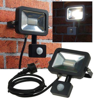 "LED-Fluter SlimLine ""CTF-SL10 PIR"" schwa – Bild 1"