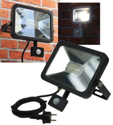 "LED-Fluter SlimLine ""CTF-SL50 PIR"" schwa – Bild 1"