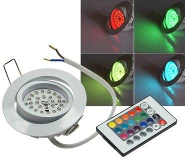 "LED-Einbauleuchte ""Flat-30 RGB"" – Bild 1"