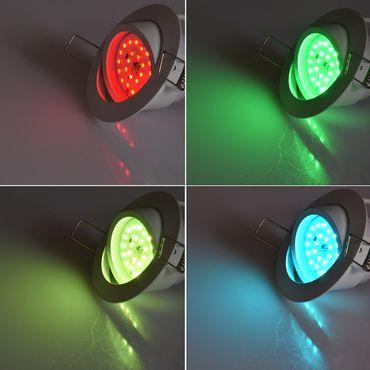 "LED-Einbauleuchte ""Flat-30 RGB"" – Bild 3"