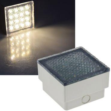 """LED Pflasterstein """"BRIKX 10"""" warmweiß – Bild 1"""