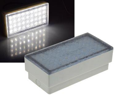 """LED Pflasterstein """"BRIKX 20"""" neutralweiß – Bild 1"""