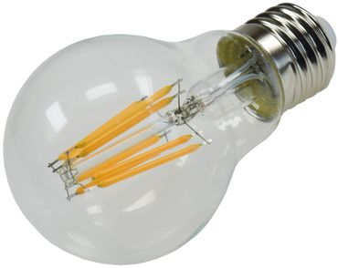 "LED Glühlampe E27 ""Filament G60k"" klar – Bild 2"