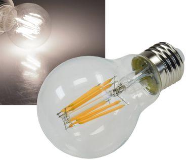 "LED Glühlampe E27 ""Filament G60k"" klar – Bild 1"