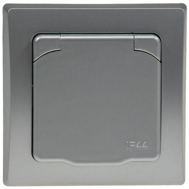 DELPHI Schutzkontakt-Steckdose IP44 – Bild 2