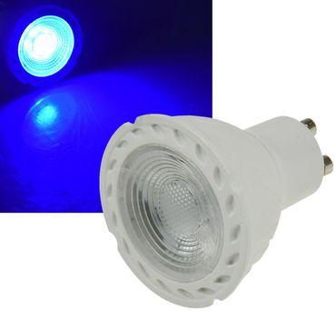 "LED Strahler GU10 ""LDS-50"" blau – Bild 1"