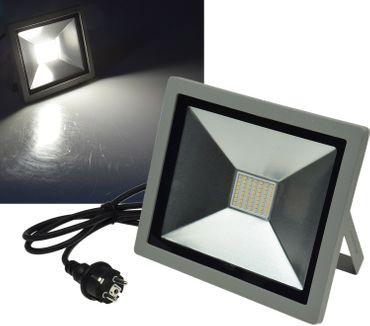 "LED-Fluter SlimLine ""CTF-SLT 50"" silber – Bild 1"