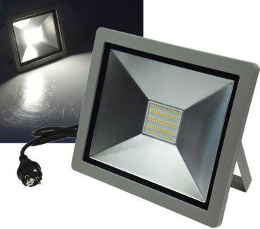 "LED-Fluter SlimLine ""CTF-SLT 99"" silber – Bild 1"