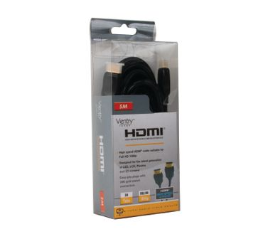 BTV817/B  VENTRY - High Speed HDMI Cable with Ethernet - 5m – Bild 3