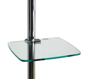 BT7172/CG  Accessory Shelf - Glass (350 x 300mm) with BT7171 Glass Shelf Mount – Bild 2