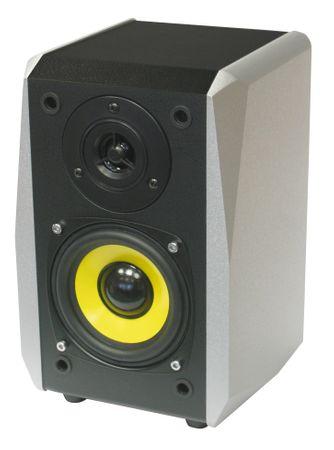 Dynavox TG-1000B Hifi Regal Box silber – Bild 2