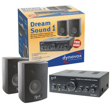 Dynavox Dream Sound Set I schwarz