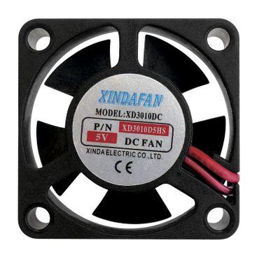 Lüfter Miniatur 5 V/DC 30 x 30 x 10 mm