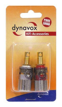 Dynavox Bananeneinbaubuchsen Pro Metall – Bild 3