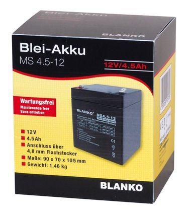 Blei-Akku BLANKO 12V/4,5Ah – Bild 2